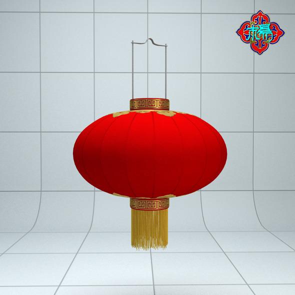 3DOcean Chinese traditional Lantern B 6583037