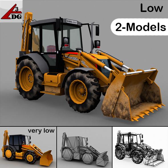 3DOcean Tractor & Traktor LOW 6583166