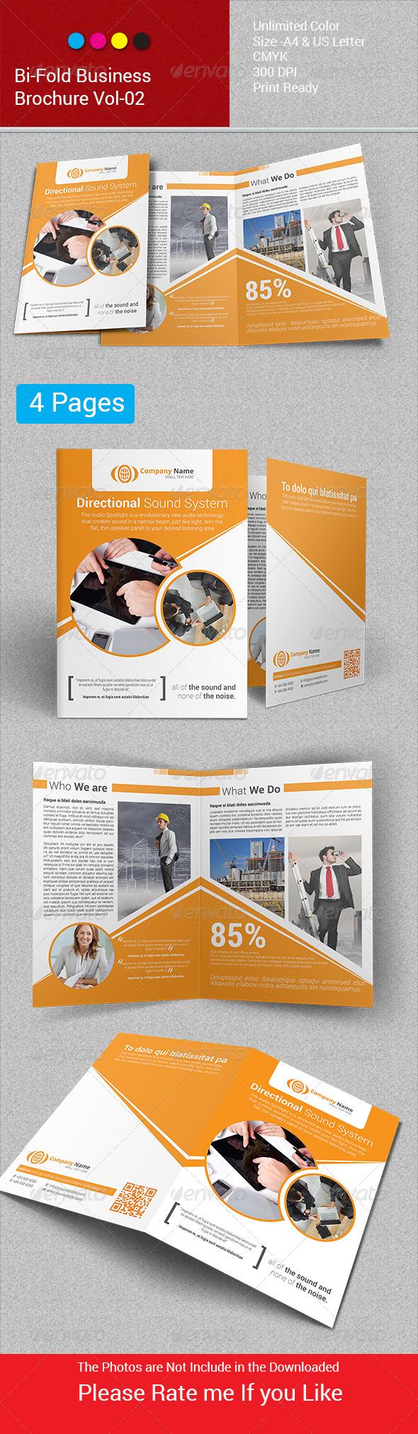 GraphicRiver Bi-Fold Business Brochure Vol-02 6583181