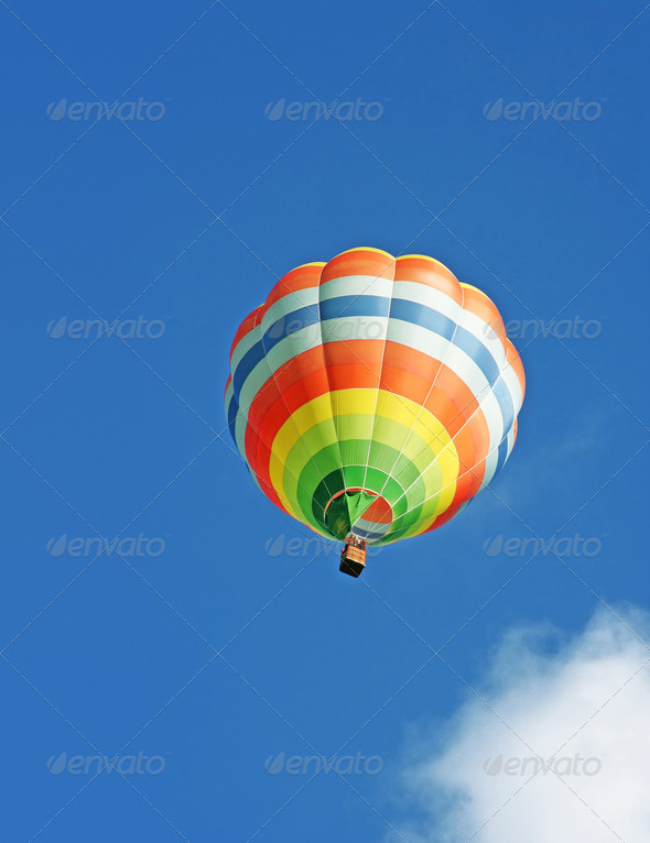 hot air balloon - Stock Photo - Images