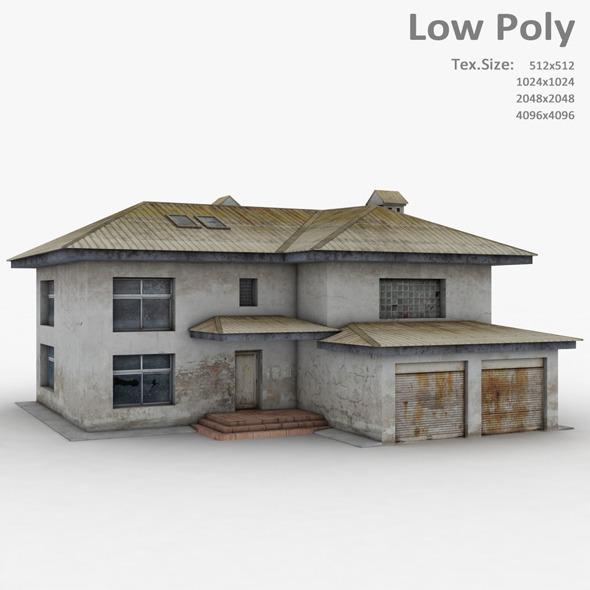 Building 008 - 3DOcean Item for Sale
