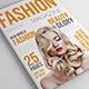 25 Pages Fashion Magazine Vol1 - GraphicRiver Item for Sale