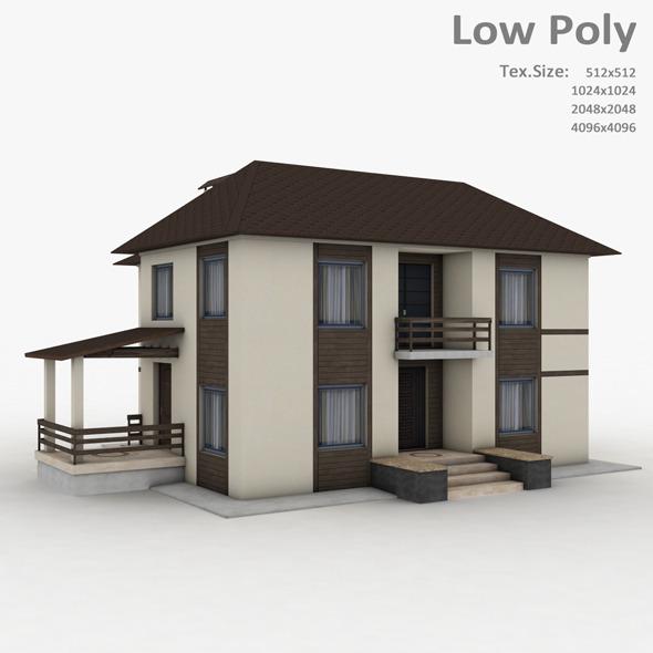 3DOcean Building 010 6583233