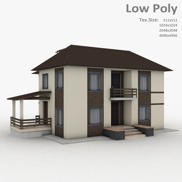 Building 010 - 3DOcean Item for Sale