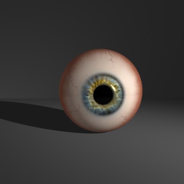 3DOcean Realistic Eyeball 6575485