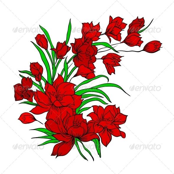 GraphicRiver Flower Bouquet 6583510