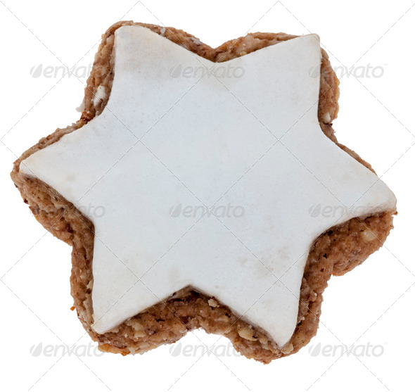 Star-Shaped Cookie - Stock Photo - Images