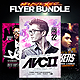 Electro House Music Flyer Bundle v2 - GraphicRiver Item for Sale