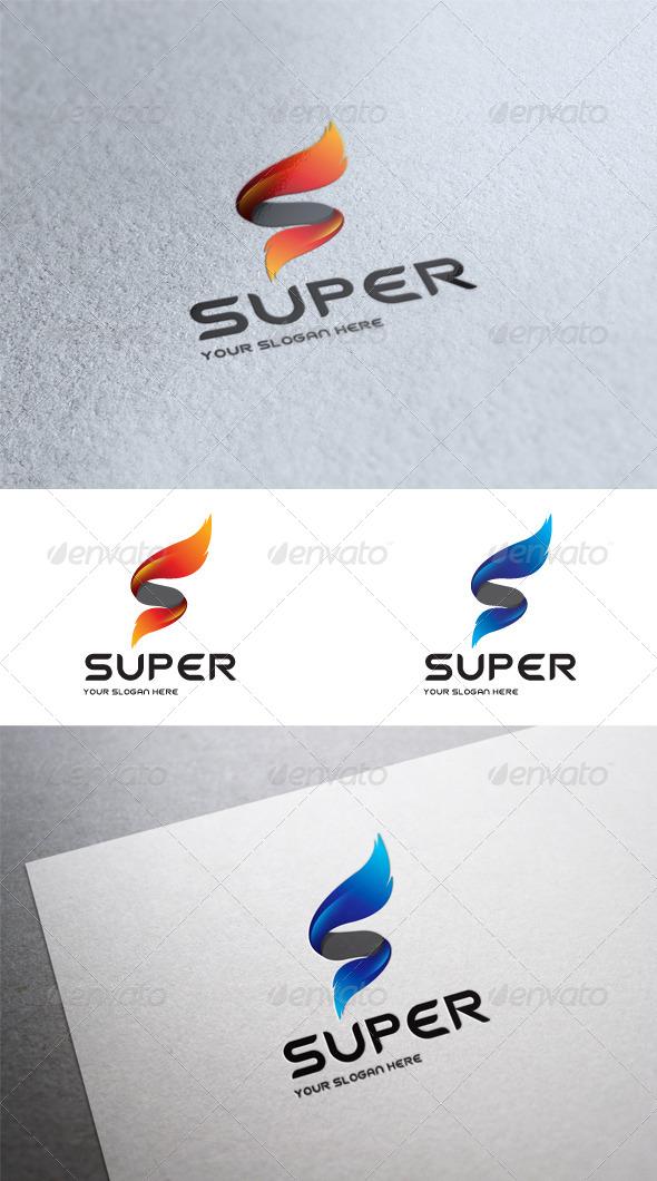 GraphicRiver Super Letter S Logo Template 6584001