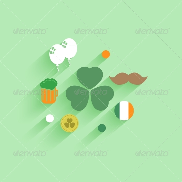 Vector St Patrick s Day Background