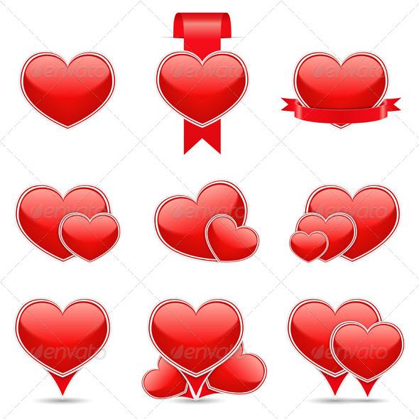GraphicRiver Hearts 6584154
