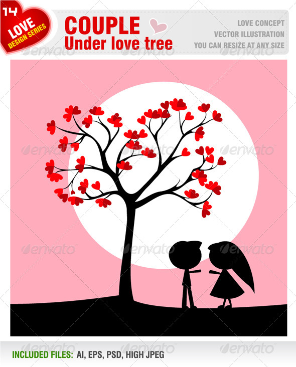 GraphicRiver Loving Couple 6584371
