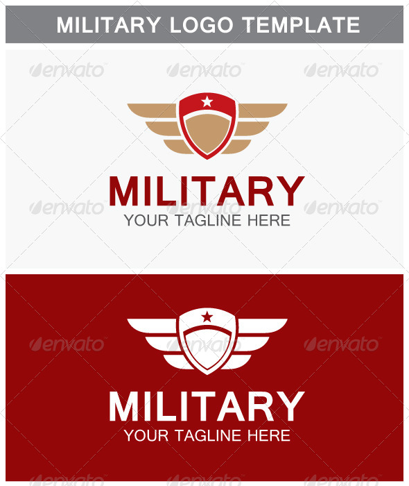 GraphicRiver Military Logo 6584436