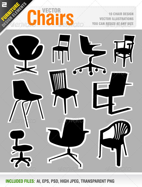 GraphicRiver Chairs 6584445