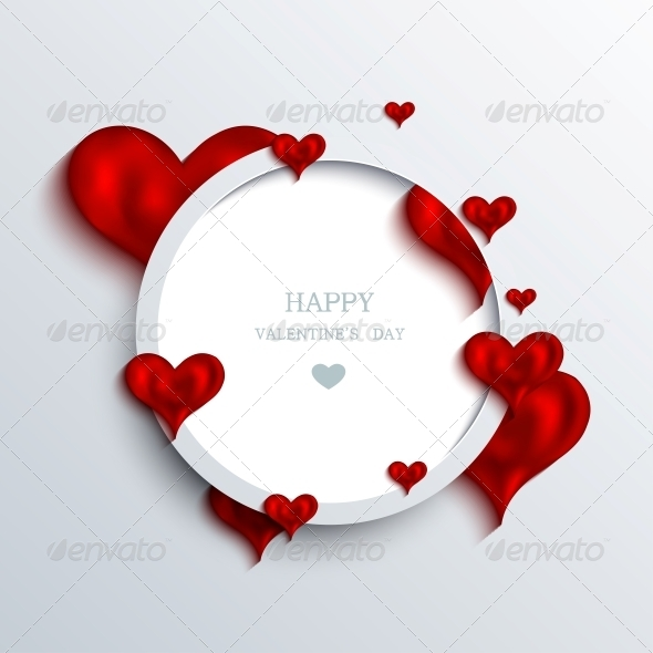 GraphicRiver Vector Valentines Day Background 6584448