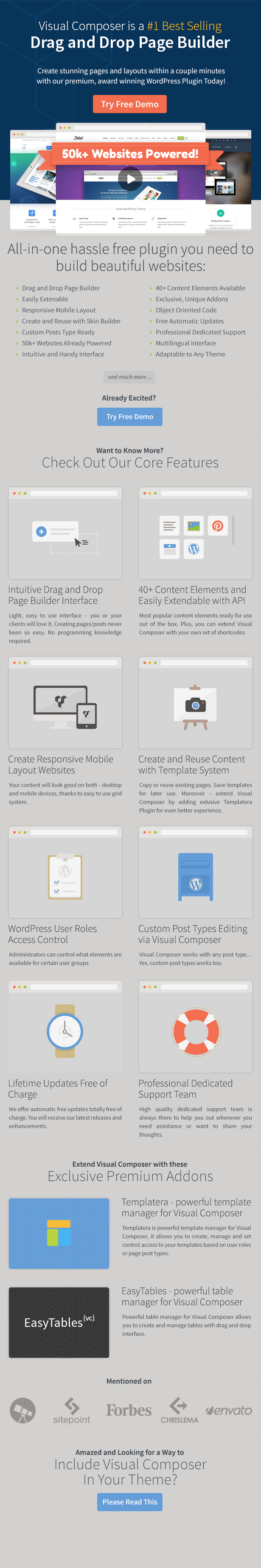 Visual Composer: Page Builder for WordPress