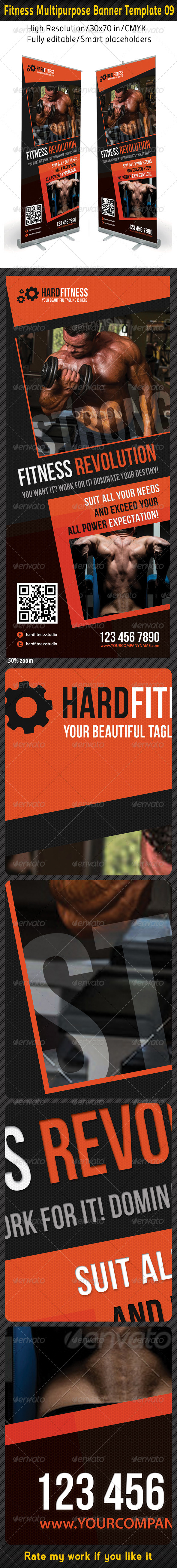 GraphicRiver Fitness Multipurpose Banner Template 09 6584781