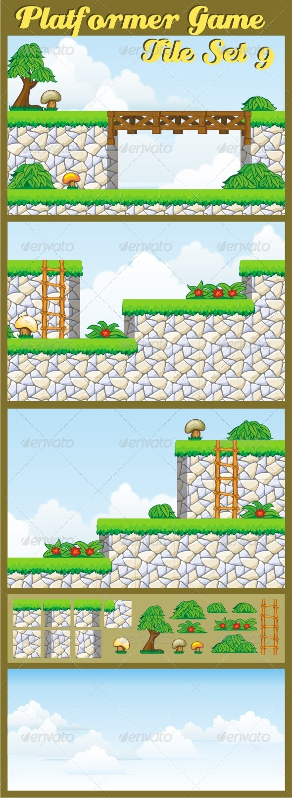 GraphicRiver Platformer Game Tile Set 9 6584935
