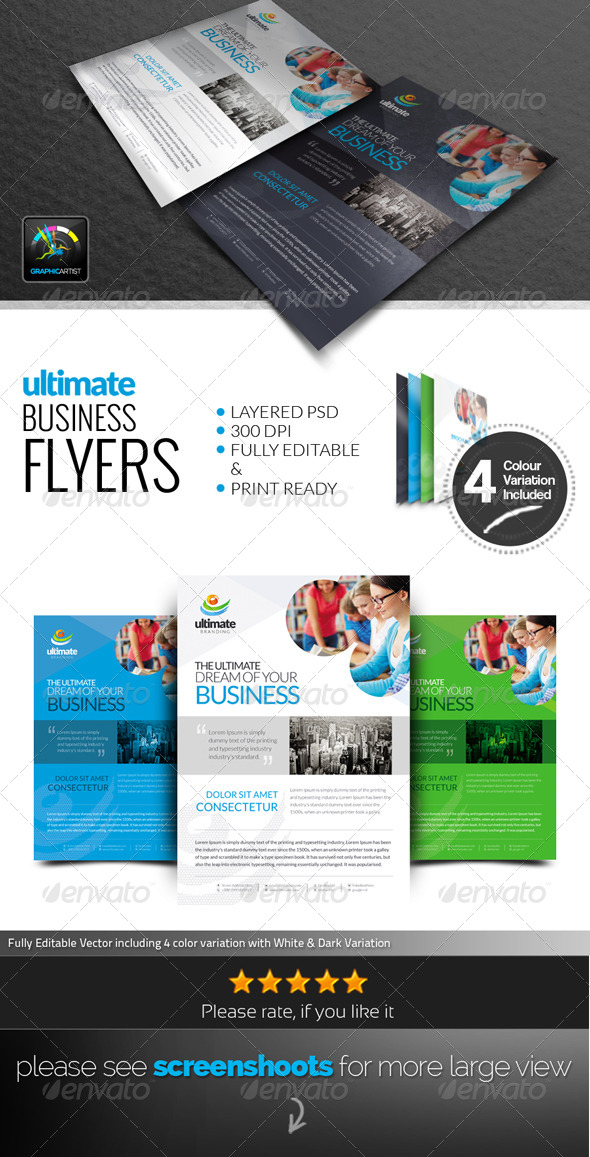 GraphicRiver Ultimate Corporate Flyers 6584940
