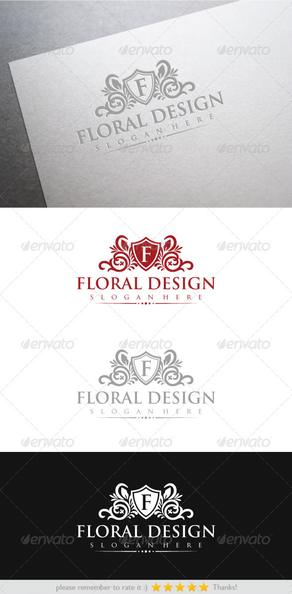 GraphicRiver Floral Design 6584968