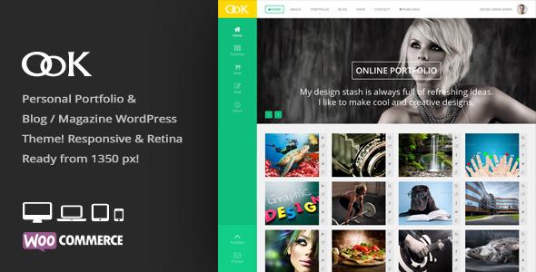 OoK - Personal Blog / Magazine & Portfolio Theme