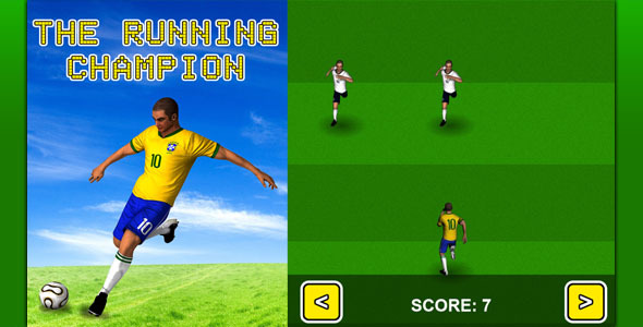 The Running Champion - Game HTML5