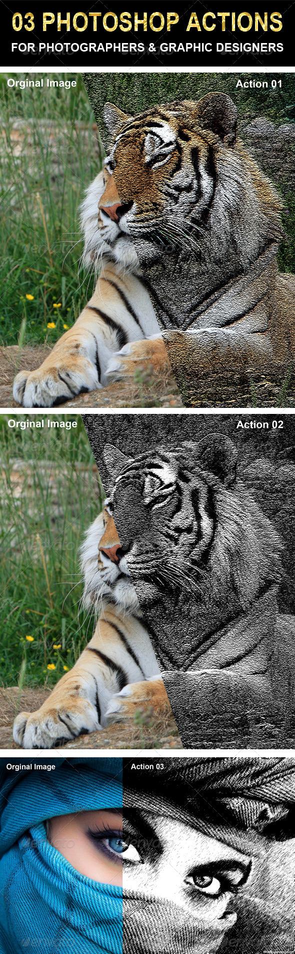 GraphicRiver 03 Photoshop actions set 6582315