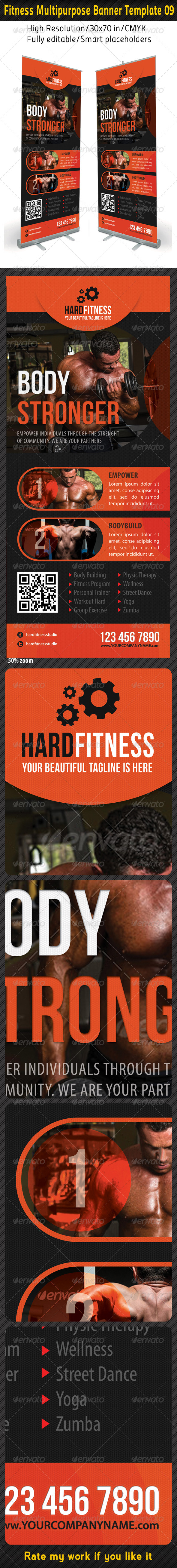 GraphicRiver Fitness Multipurpose Banner Template 10 6585363