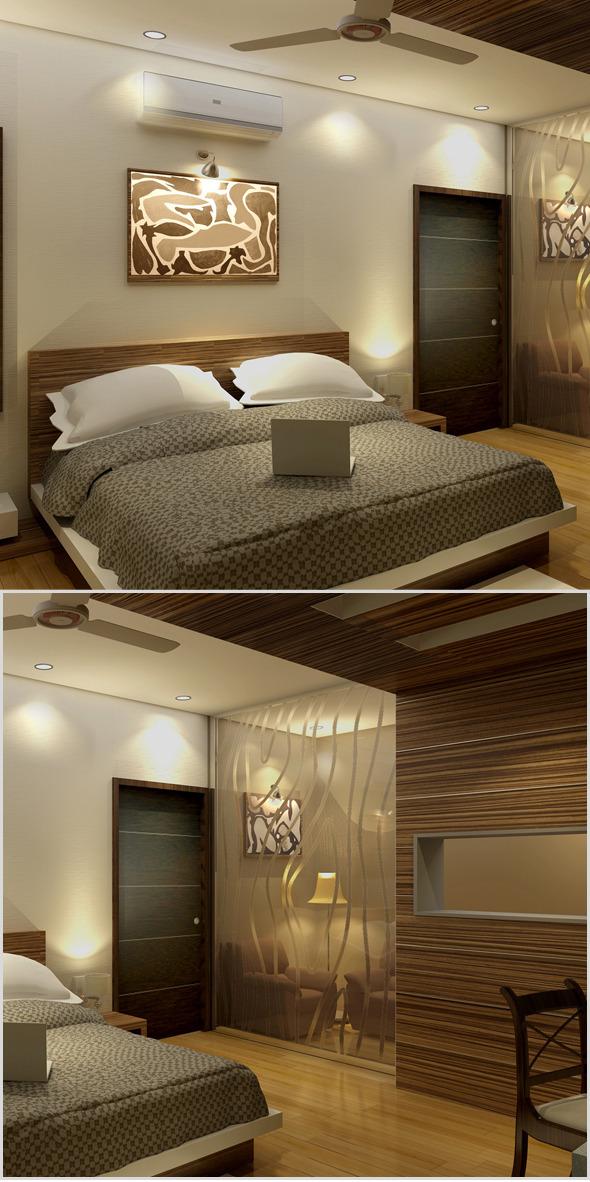 3DOcean Realistic Bedroom interior 3d 690118
