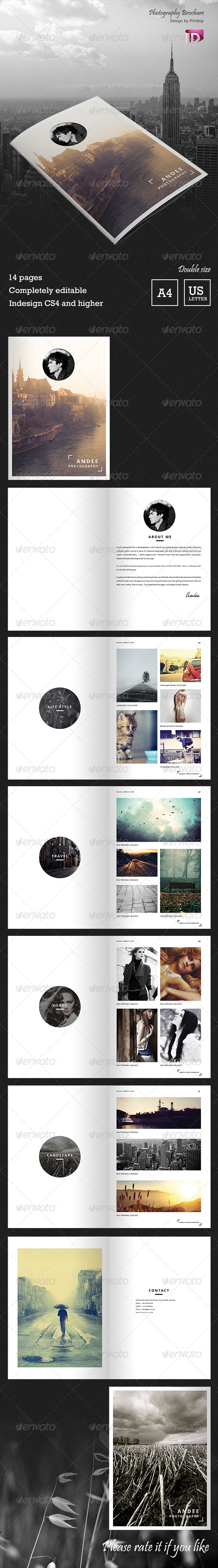 GraphicRiver Andee Photography Brochure 6585589