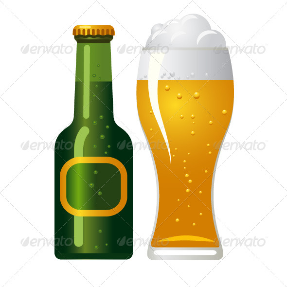 GraphicRiver Beer Icon 6585684