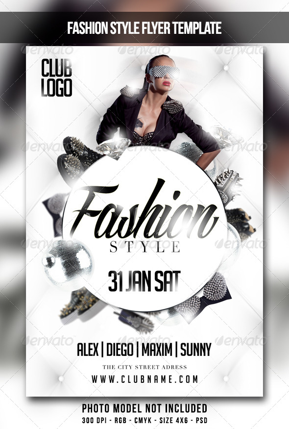 GraphicRiver Fashion Style Flyer 6585851