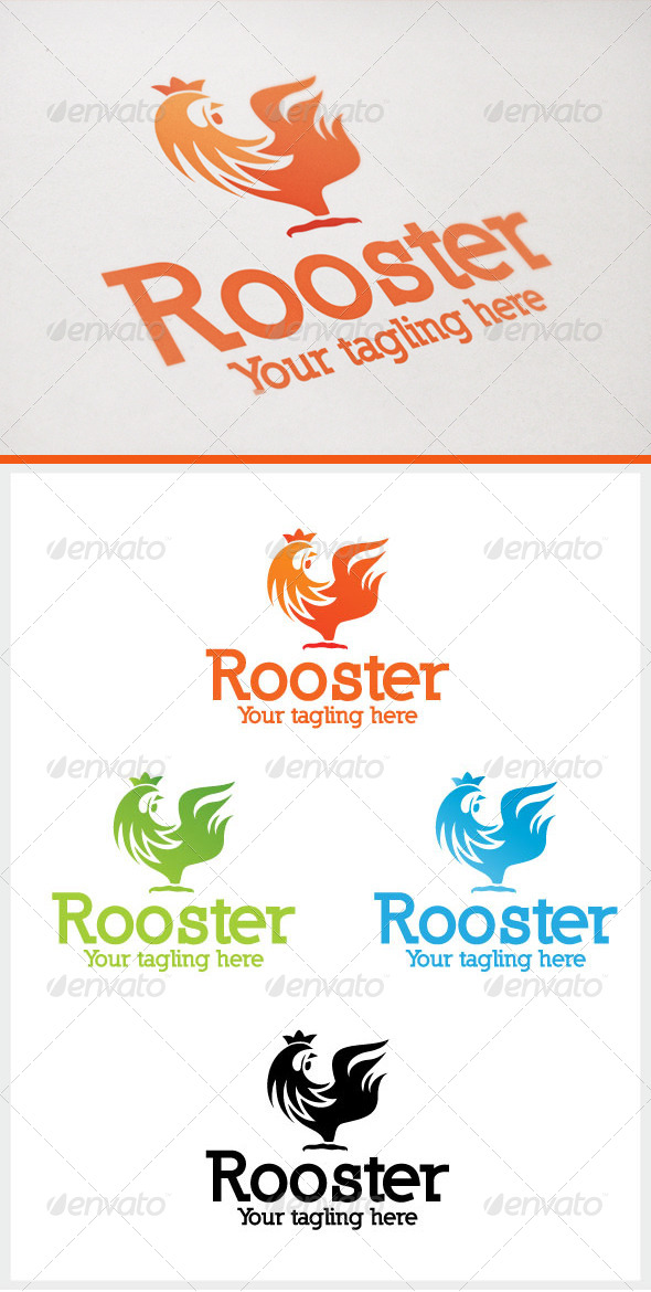 GraphicRiver Rooster 6586043