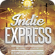 Indie Express Flyer - GraphicRiver Item for Sale