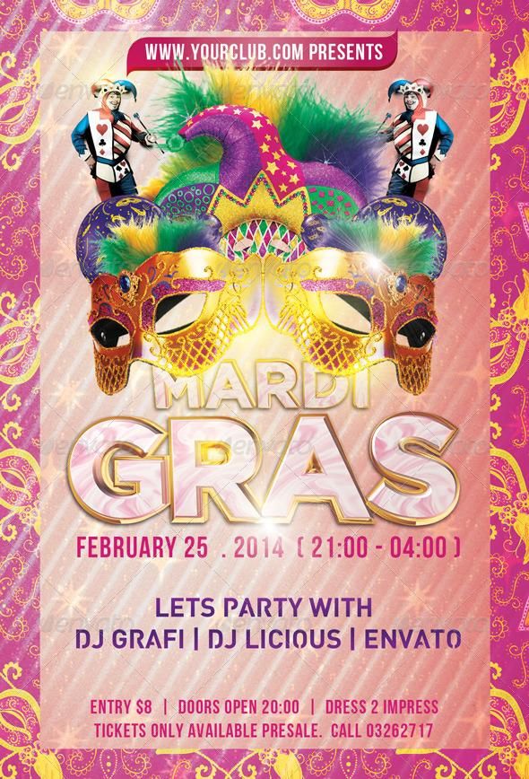 GraphicRiver Mardi Gras 6554068