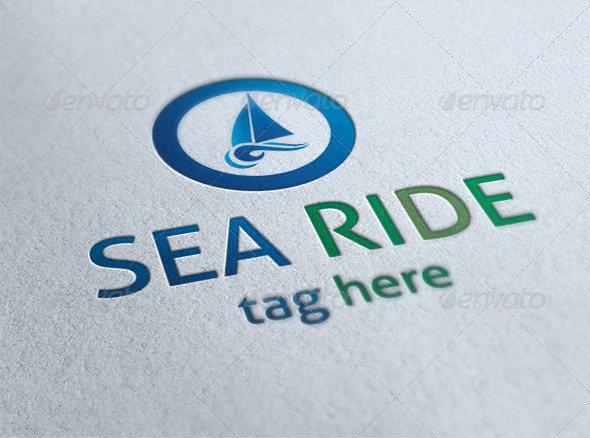 GraphicRiver Sea Ride Logo 6564213