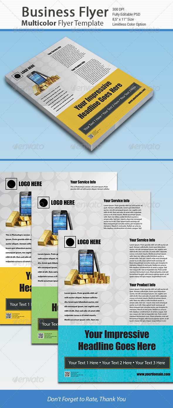 Business Corporate Flyer / ADTemplate - Corporate Flyers