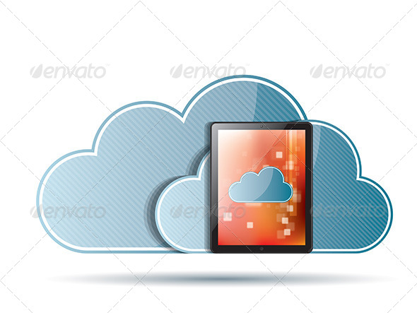 GraphicRiver Cloud Computing 6587044