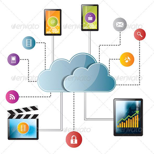 GraphicRiver Cloud Computing 6587049