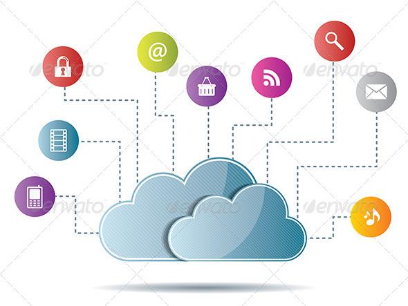 GraphicRiver Cloud Computing 6587064