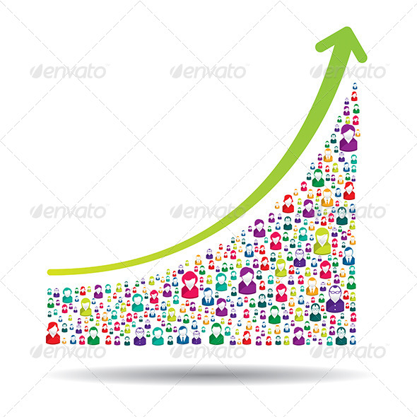 GraphicRiver Growth Chart 6587115