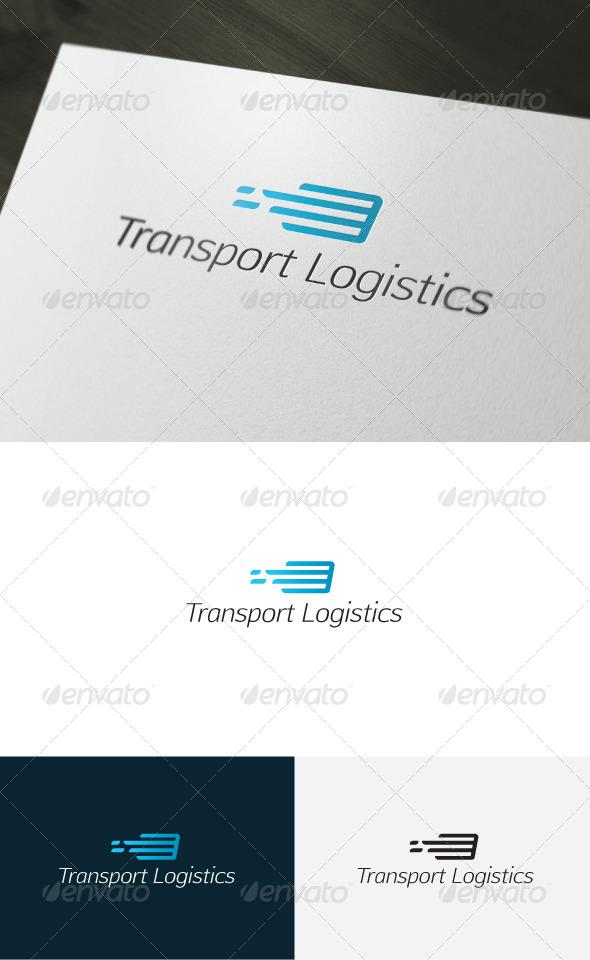 GraphicRiver Transport Logistics Logo 6587153
