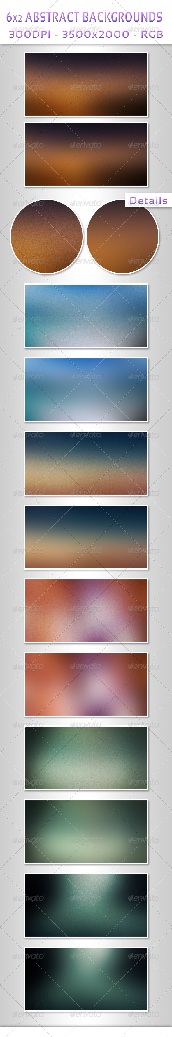 12 Abstract Backgrounds 2