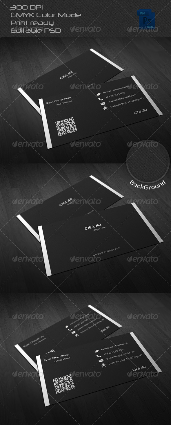 GraphicRiver Corporate Business Card 17 6587842
