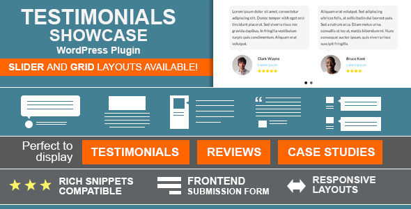 CodeCanyon Testimonials Showcase WordPress Plugin 6588139