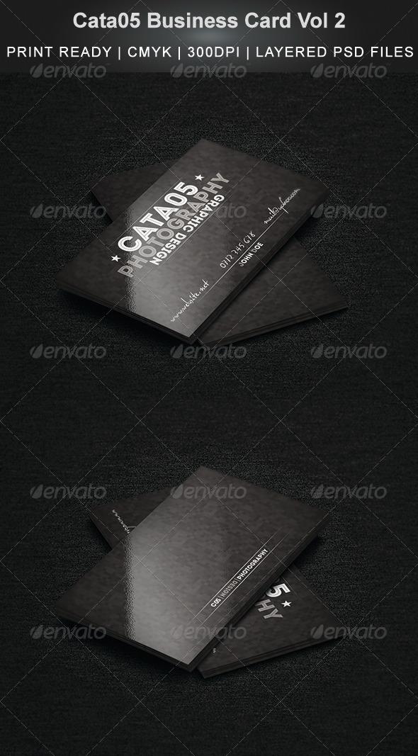 GraphicRiver Cata05 Business Card Vol 2 6588172