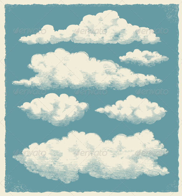 GraphicRiver Vintage Cloud Background 6588213