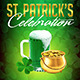 St Patricks Celebration Flyer - GraphicRiver Item for Sale