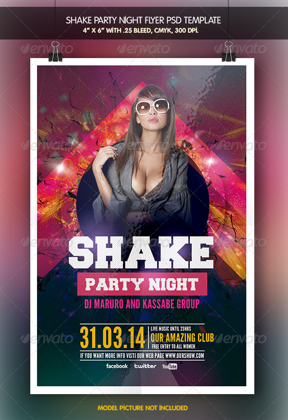 GraphicRiver Shake Party Night 6588874