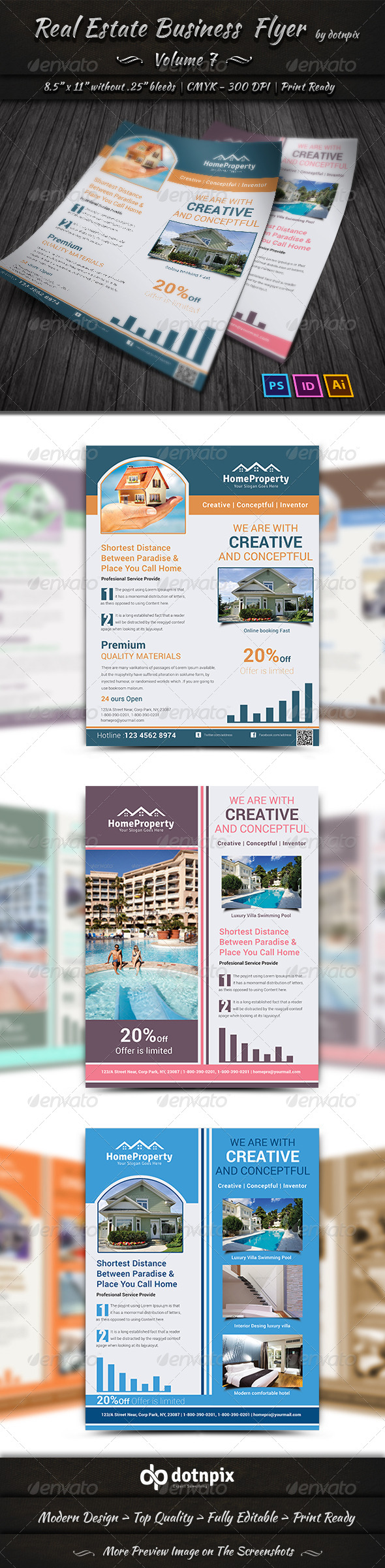 Real Estate Business  Flyer | Volume 7 - Corporate Flyers